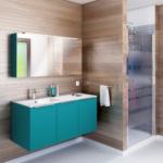 Meuble de salle de bain turquoise à villefranche de lauragais 31290 livraison et pose par cuisine MALRIEU You artisan local