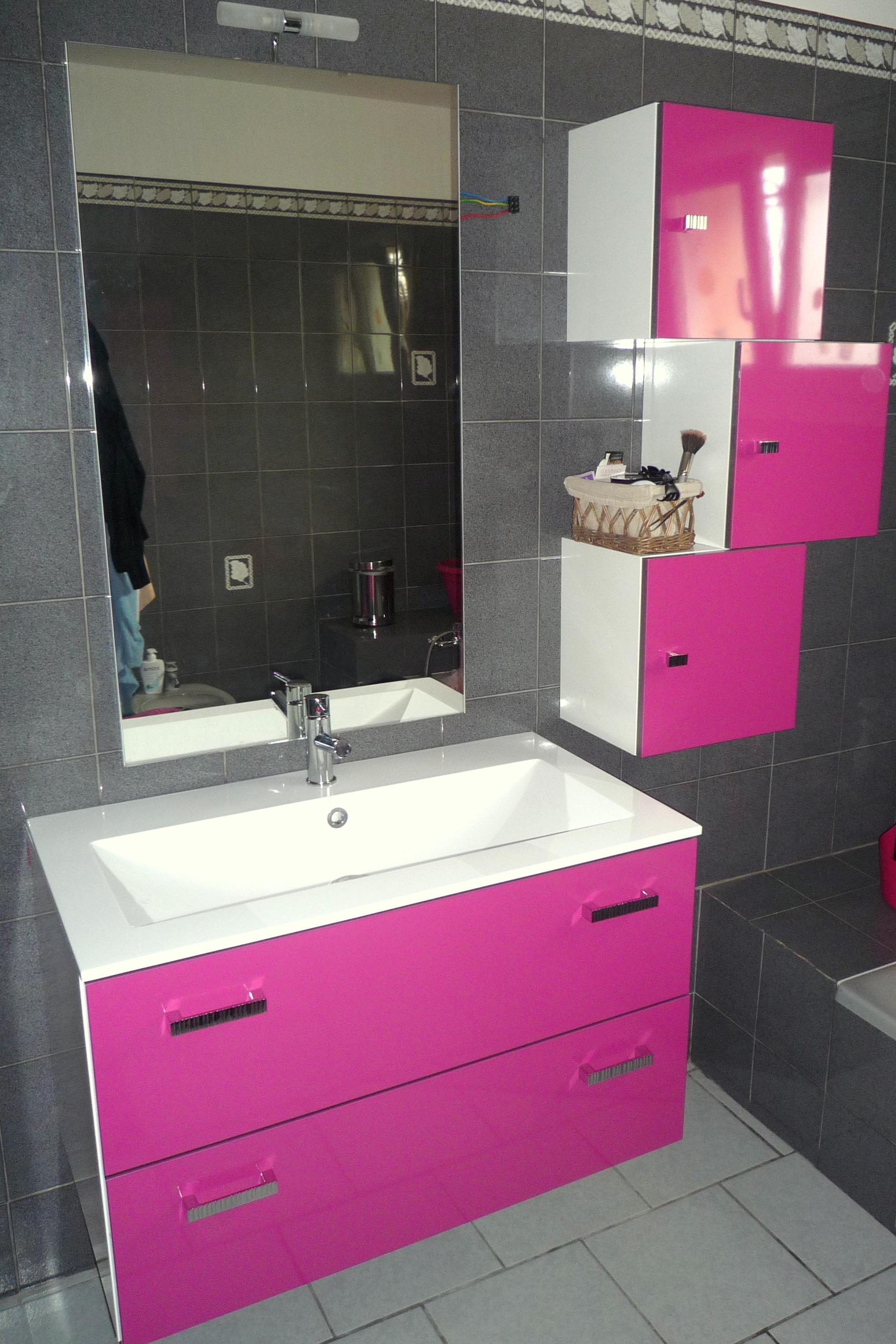Meuble De Salle De Bain Vasque Miroir Par Cuisine Malrieu